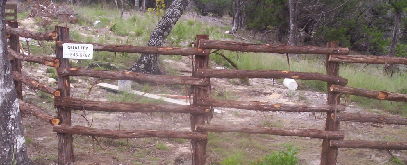 Ranch & Pipe Fencing | San Antonio